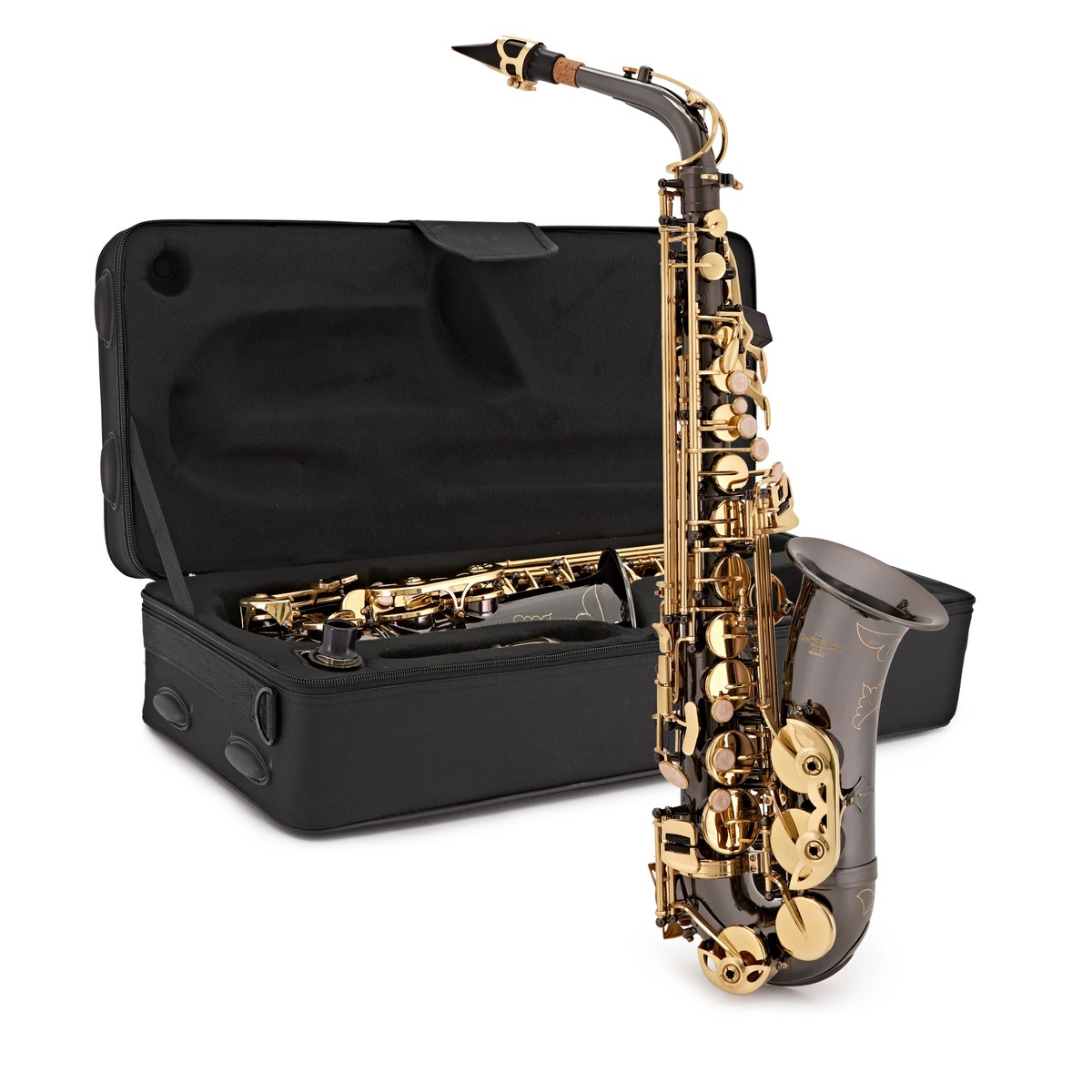 Click to view product details and reviews for Alto Saxophone By Gear4music Black Gold.