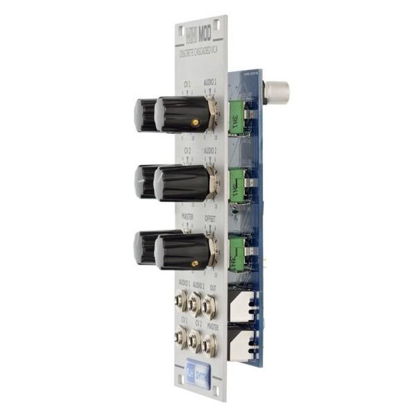 AJH Minimod Discrete Cascaded VCA, Silver - Side