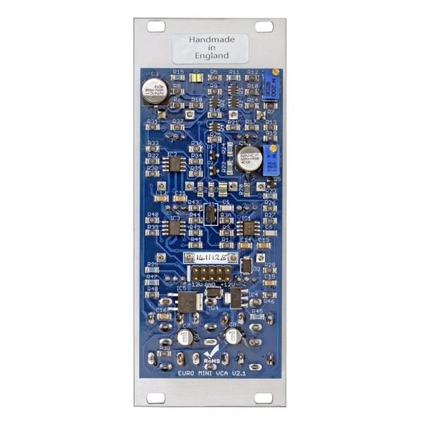 AJH Minimod Discrete Cascaded VCA, Silver - Back