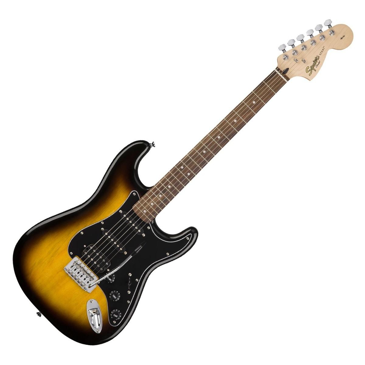 squier affinity stratocaster hss pack brown sunburst at gear4music. Black Bedroom Furniture Sets. Home Design Ideas