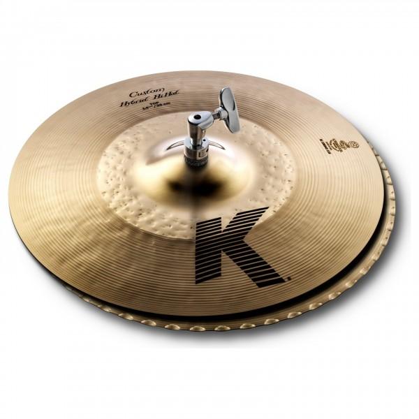 Zildjian K Custom 14 1/4'' Hybrid Hi-Hat Cymbals - Main Image