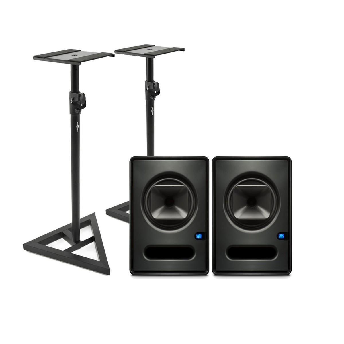 PreSonus Sceptre S6 CoActual Studio Monitors (Pair) with Stands