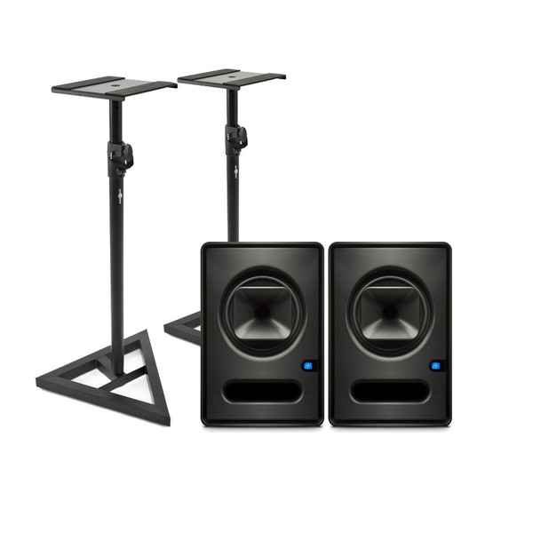 PreSonus Sceptre S6 CoActual Studio Monitors (Pair) with Stands - Main