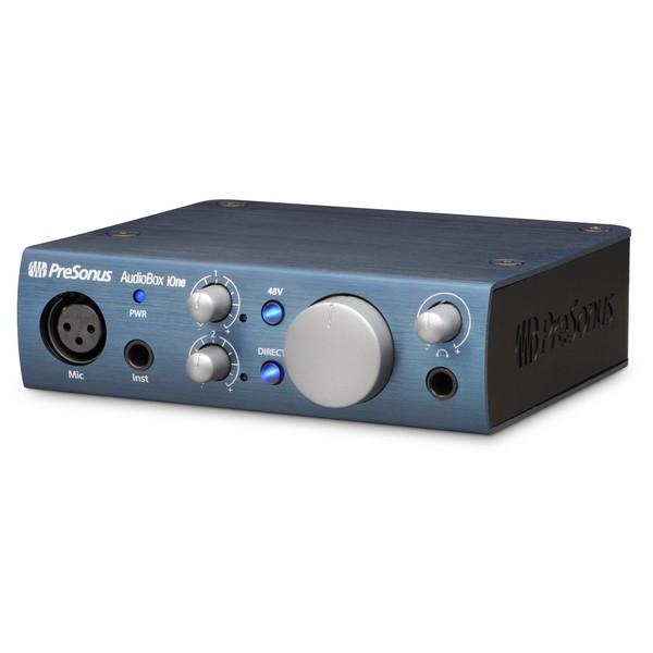 PreSonus AudioBox iOne iPad/USB Audio Interface - Angle