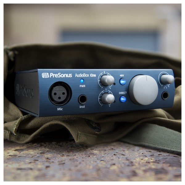 PreSonus AudioBox iOne iPad/USB Audio Interface - Lifestyle 1