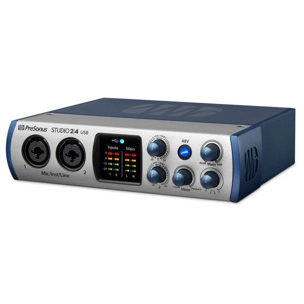 PreSonus Studio 2 4 USB-C Audio Interface - Side