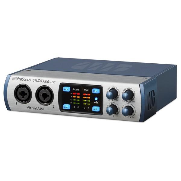 PreSonus Studio 2 6 Audio Interface - Side