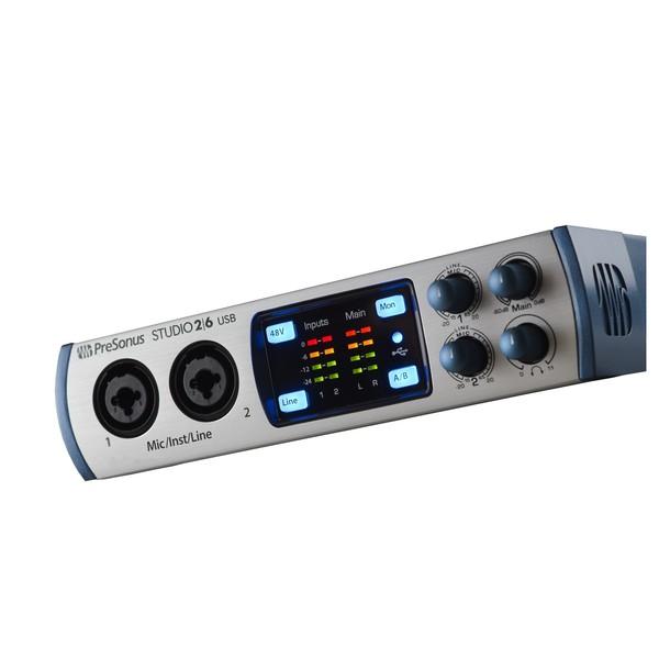 PreSonus Studio 2 6 Audio Interface - Angle