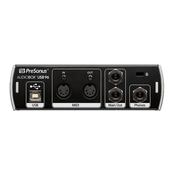 PreSonus Audiobox 96 Studio - Back