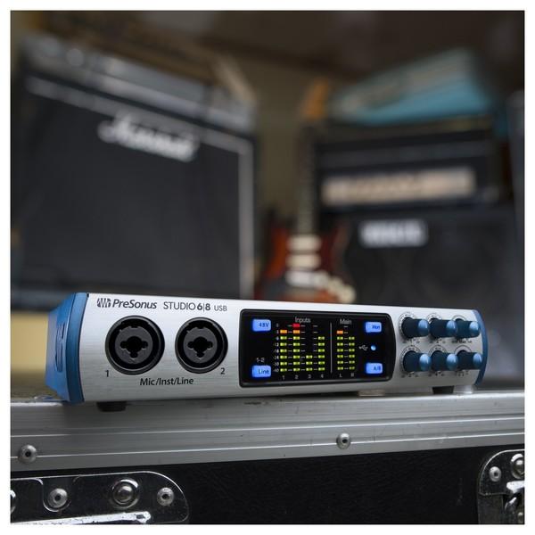 PreSonus Studio 6|8 Audio Interface - Lifestyle