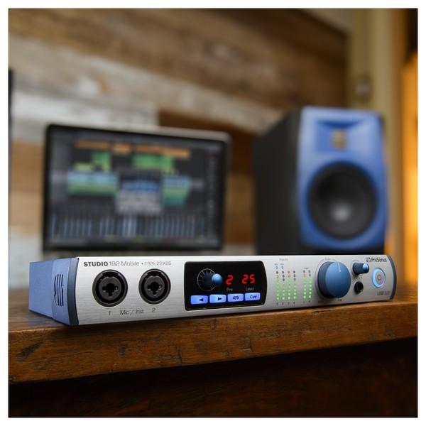PreSonus Studio 192 Mobile USB Audio Interface - Lifestyle