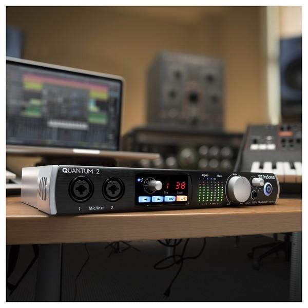 PreSonus Quantum 2 Thunderbolt Audio Interface - Lifestyle 1