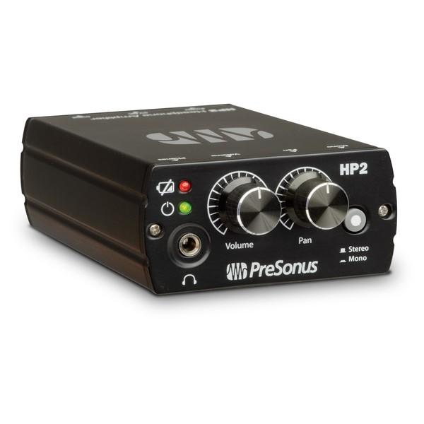 PreSonus HP2 2-Channel Headphones Amp - Angle