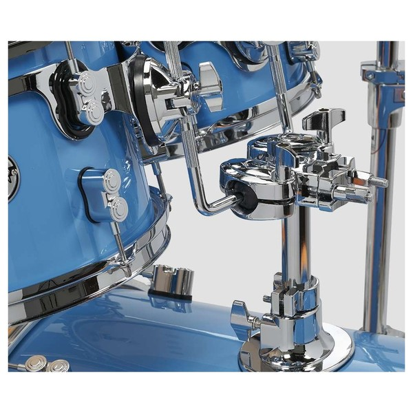 PDP Concept Maple LTD Edition 5pc Shell Pack, Blue Lacquer - Close Up