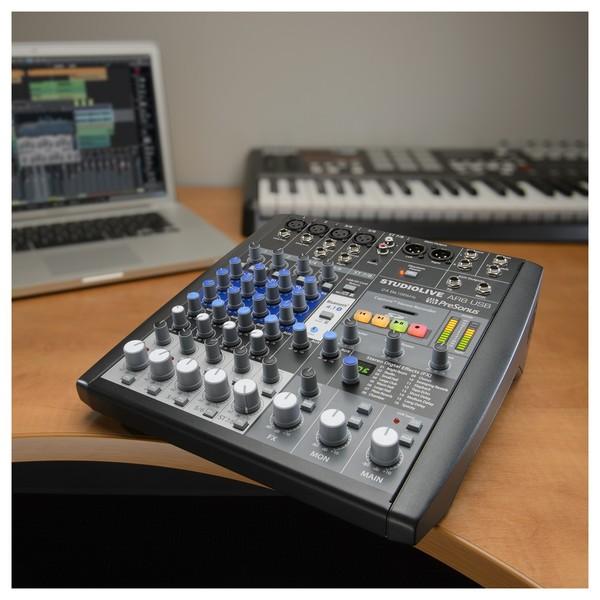 PreSonus StudioLive AR8 USB Mixer - Lifestyle