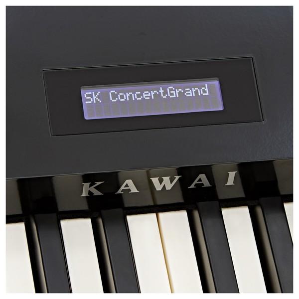 Kawai ES8 Digital Piano, Black close
