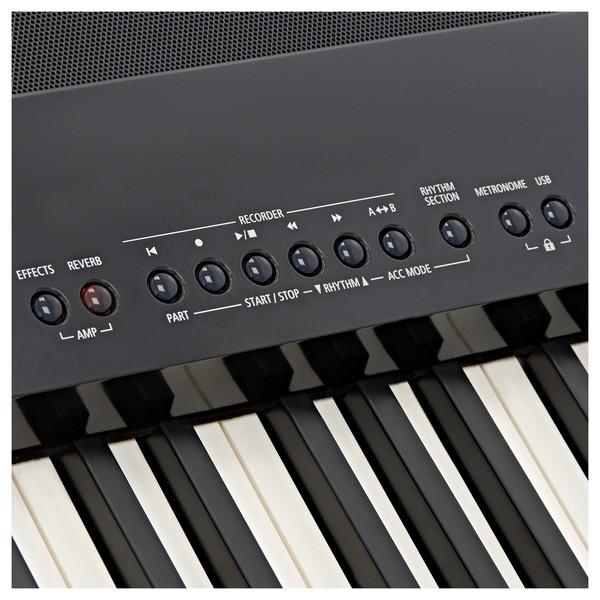 Kawai ES8 Digital Piano, Black buttons