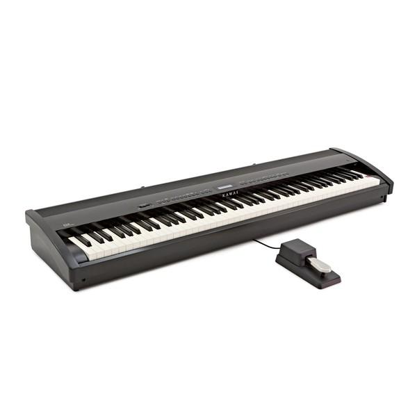 Kawai ES8 Digital Piano, Black angle