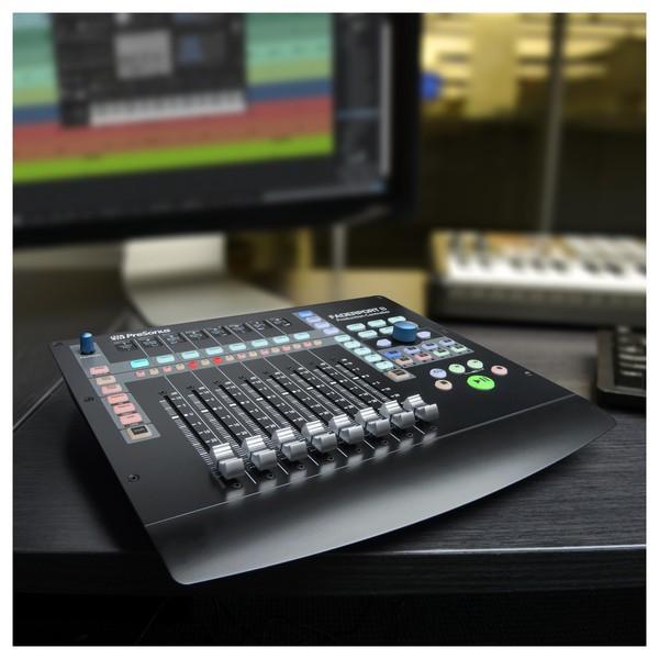 PreSonus FaderPort 8 DAW Control Surface - Lifestyle 1
