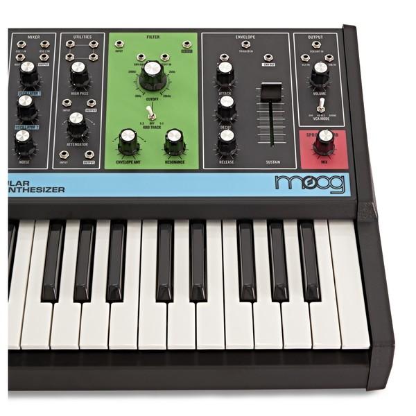 Moog Grandmother Semi-Modular Analog Synthesizer close