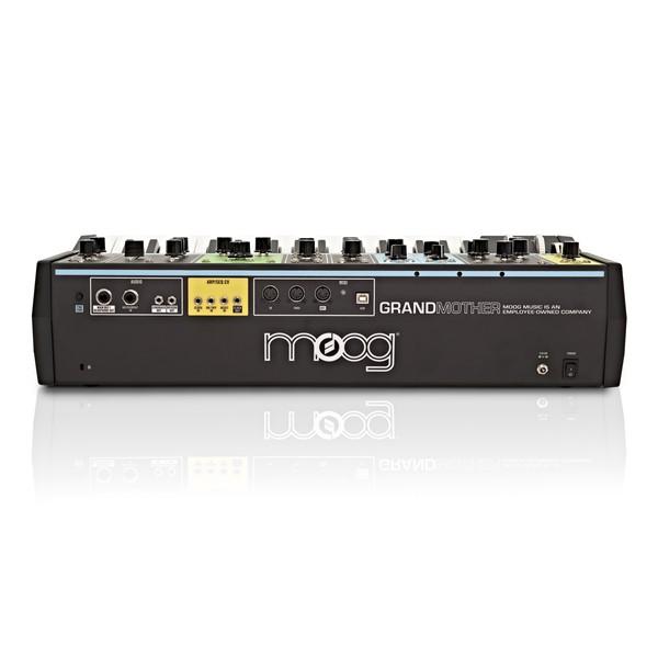 Moog Grandmother Semi-Modular Analog Synthesizer back