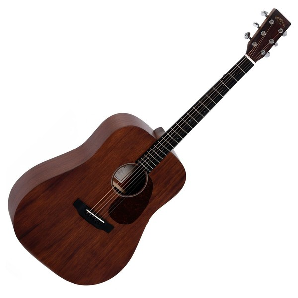 Sigma DM-15+ Acoustic Guitar, Solid Mahogany Front View