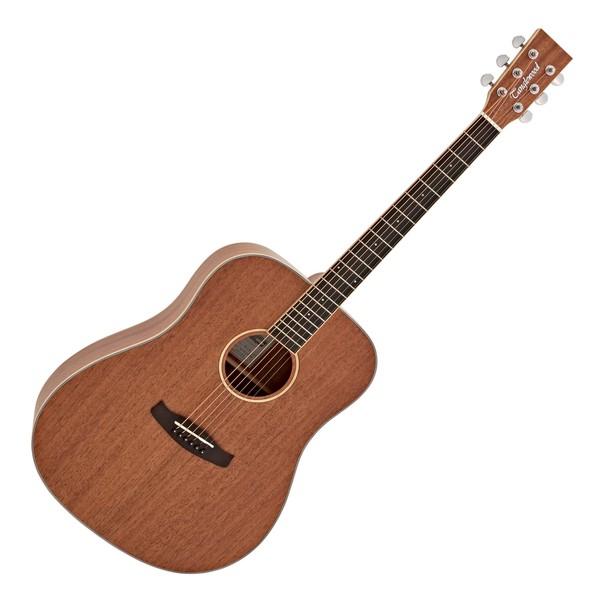 Tanglewood TWUD Union Dreadnought Acoustic, Natural Mahogany main