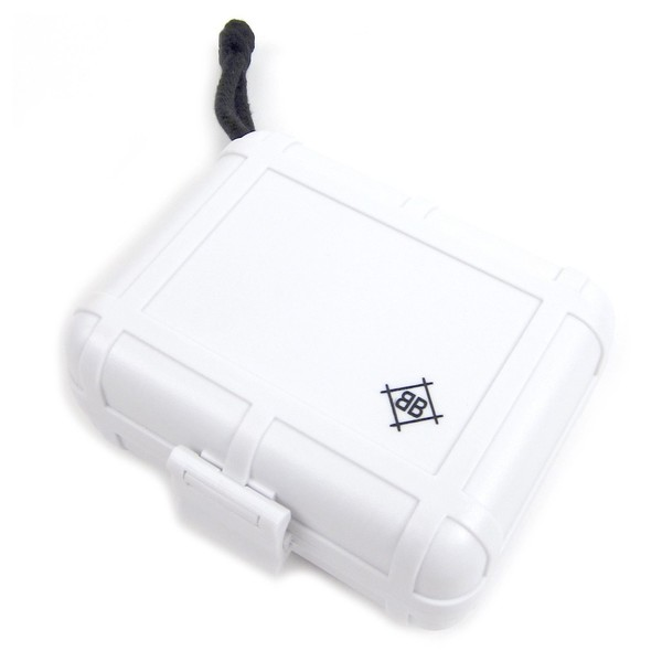 Dr Suzuki Black Box DJ Cartridge Case, White -