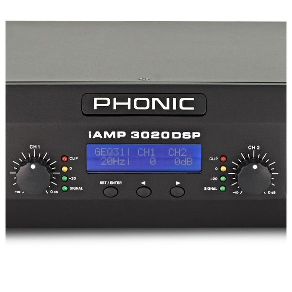 Phonic iAMP 3020 Digital Amplifier With DSP close