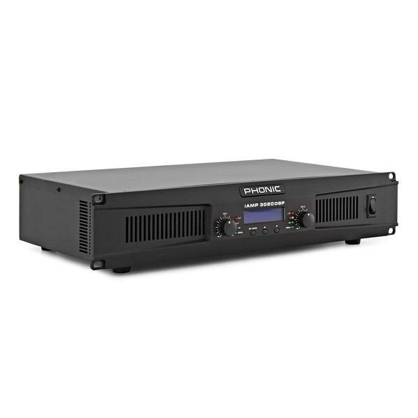 Phonic iAMP 3020 Digital Amplifier With DSP angle