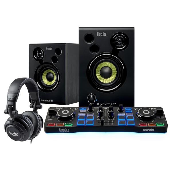 Hercules DJStarter Kit - Full Bundle