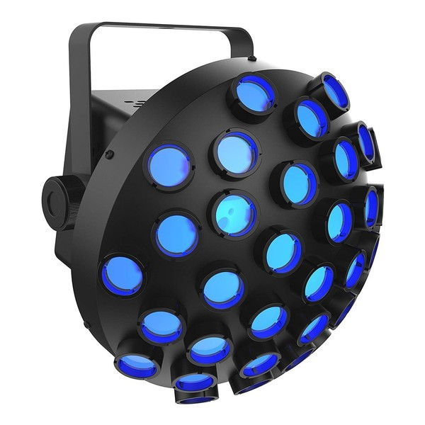 Chauvet Line Dancer Rotating RGB LED Effect, Front Angled Right