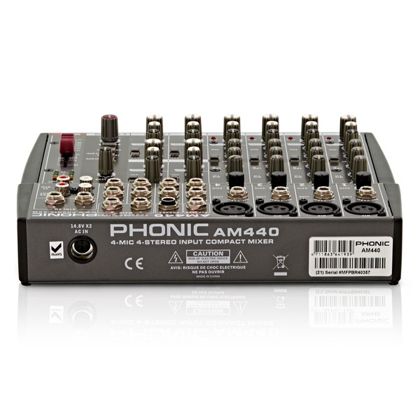 Phonic AM440 Analog Mixer front