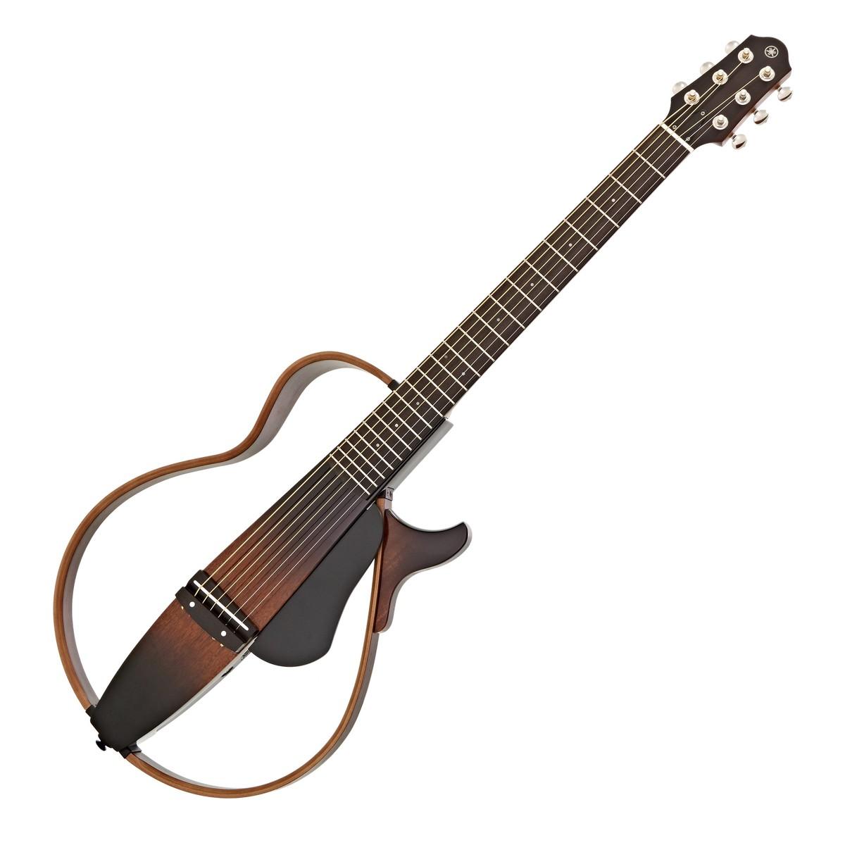 yamaha slg200s steel string silent guitar tobacco brown. Black Bedroom Furniture Sets. Home Design Ideas