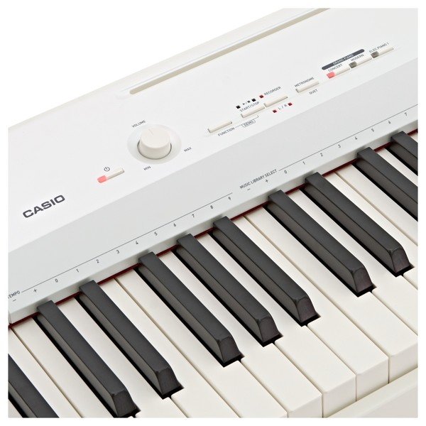 Casio Privia PX 160 Digital Piano, White close