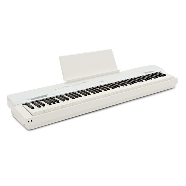 Casio Privia PX 160 Digital Piano, White angle