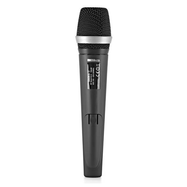 AKG HT 470/D5 Band 6 Wireless Handheld Microphone back