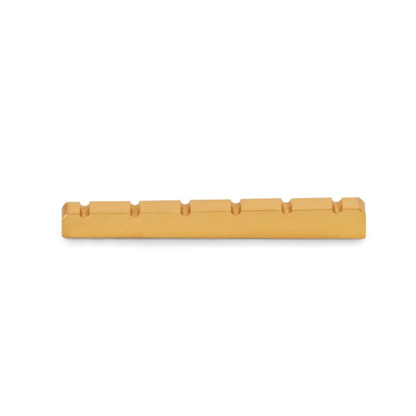 Guitarworks Brass Guitar Nut, 42x4.8x3.5 main