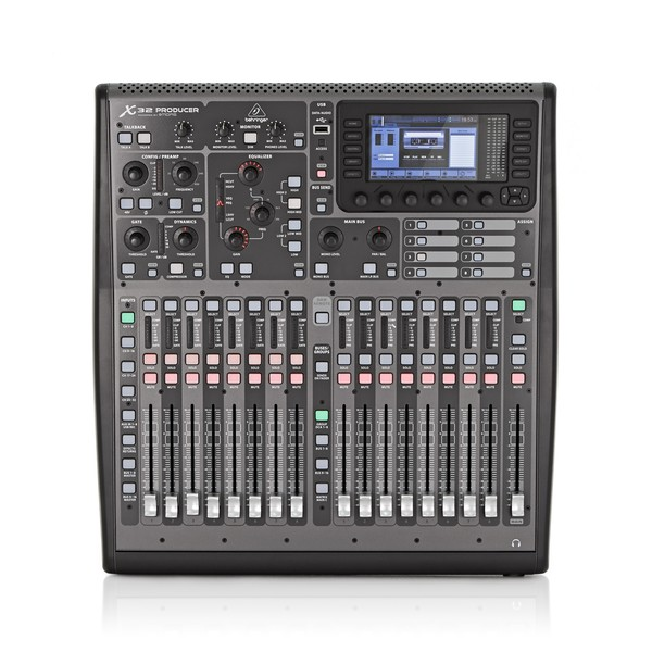 Behringer X32 PRODUCER Digital Mixing Console top view