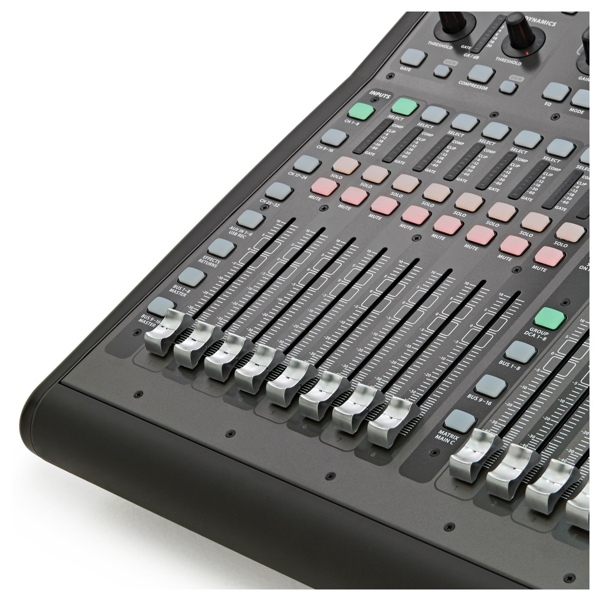 Behringer X32 Producer Digital Mixing Console At Gear4music Rack Live Performance Setup With S16 And P16 Monitor System