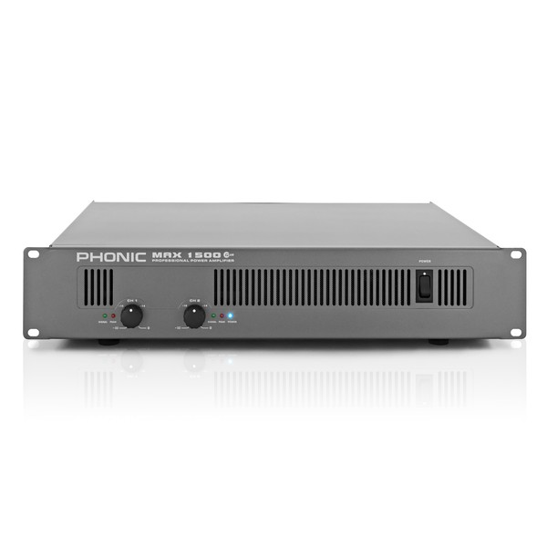 Phonic Max 1500 Plus Power Amplifier main