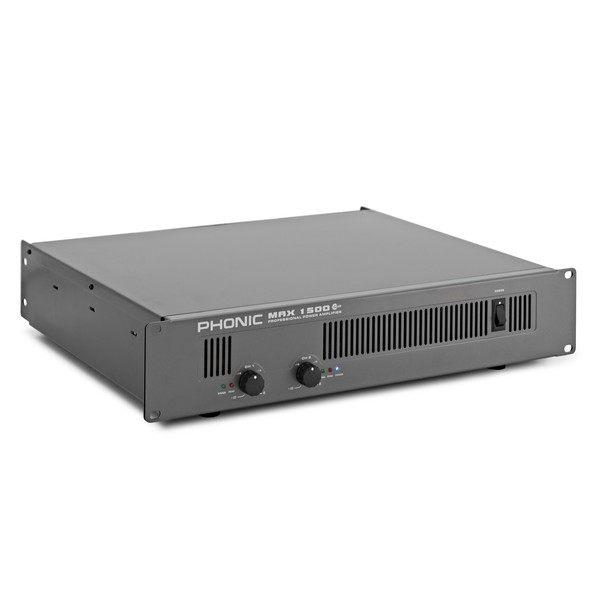 Phonic Max 1500 Plus Power Amplifier angle