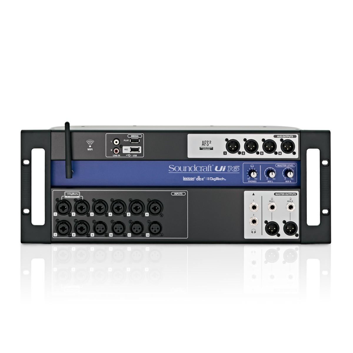 Soundcraft Ui16 Digital Rack Mixer