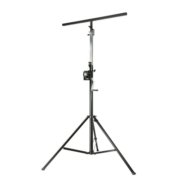 Adam Hall SWU400 T Wind Up Lighting Stand with T-Bar