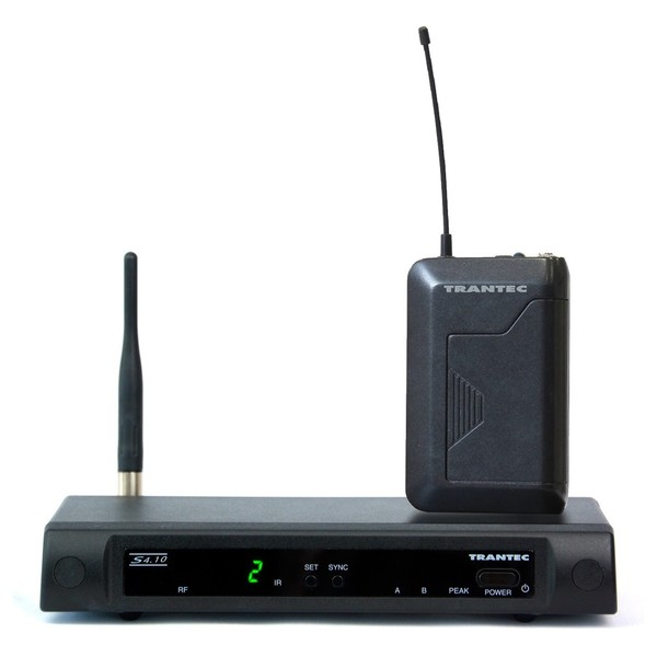 Trantec S4.10-B-EB GD4 Beltpack Wireless System, No Microphone, Ch70, Full System