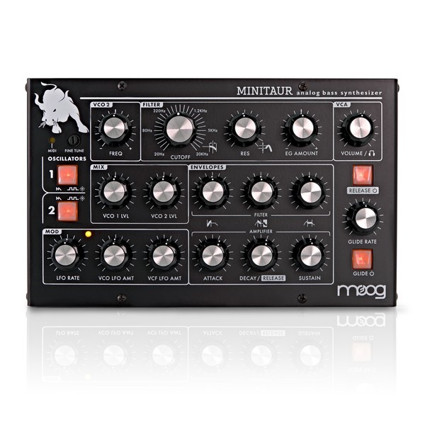 Moog MINITAUR Analog Bass Synthesizer main