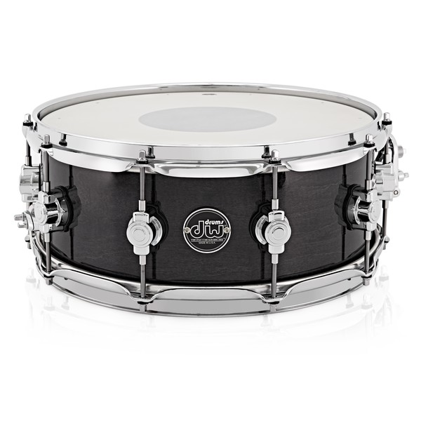 DW Drums 14 x 5.5 Performance Snare Drums, Ebony Stain