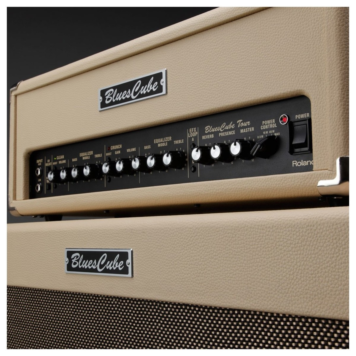 Roland Blues Cube Tour 100w Half Stack At Gear4music 45w Power Amplifier Include Tone Control Loading Zoom