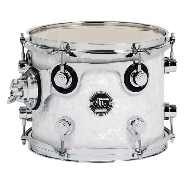 "DW Performance Series 8 x 7"" Tom, White Marine"