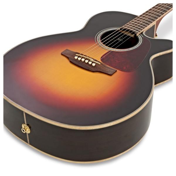 Takamine GN71CE-BSB NEX Electro Acoustic Guitar, Sunburst close